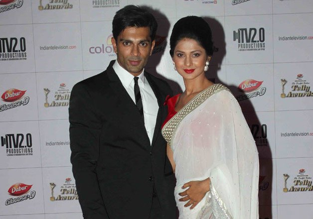 it s official karan singh grover and jennifer winget are