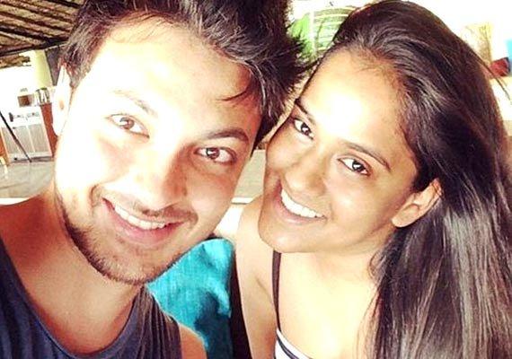 arpita khan ayush sharma s cosy moments together see pics