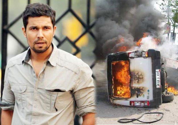 jat agitation randeep hooda appeals jats to have peaceful