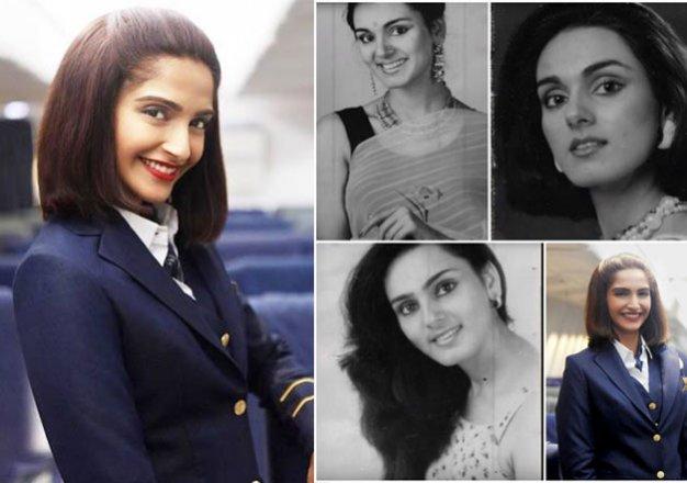 neerja meet the two actresses who played neerja bhanot on