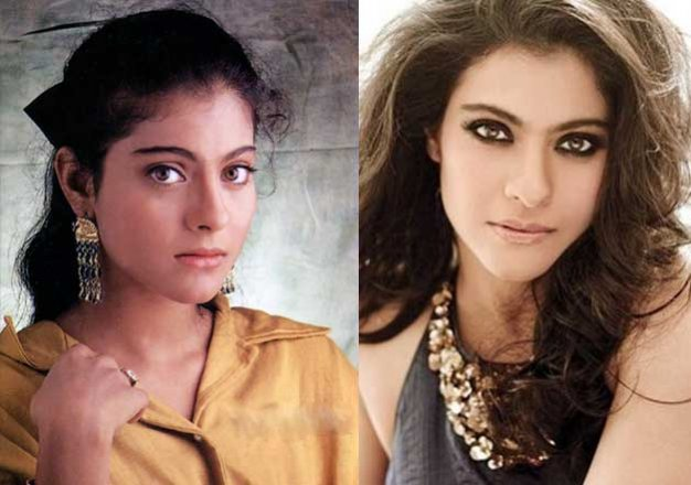 from bekhudi at 18 to dilwale at 41 kajol s 23 years of