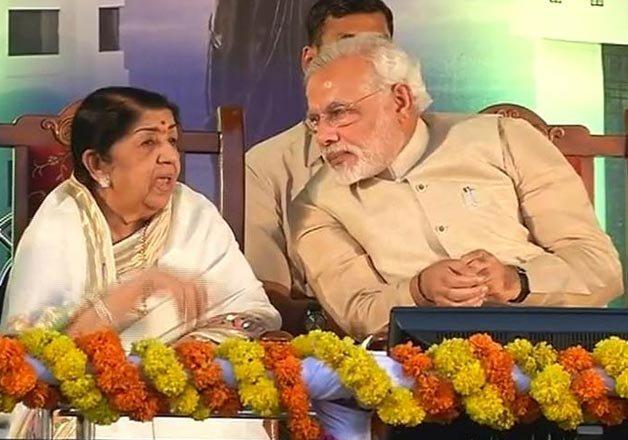 Lata Mangeshkar wishes best for PM Modi on his birthday | IndiaTV ...