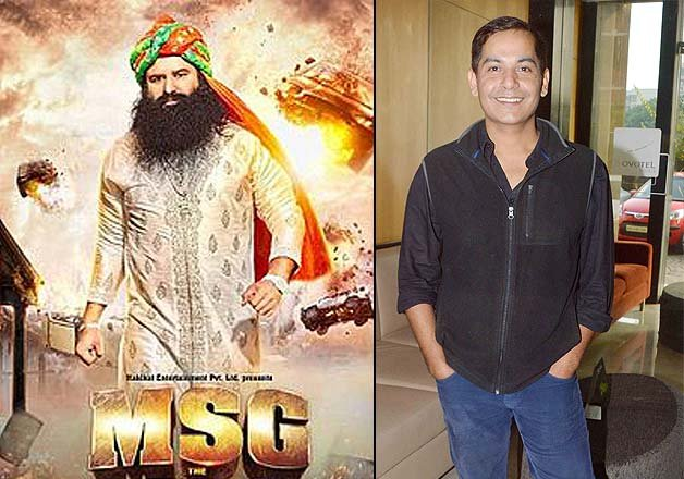 """MSG """" The Messenger: Not just babaji, the film has other eminent"""