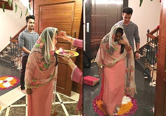 salman khan s sister arpita khan s grah pravesh ceremony