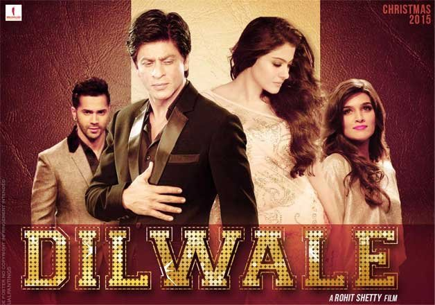 dilwale movie review srk kajol sizzle but the rest fizzles