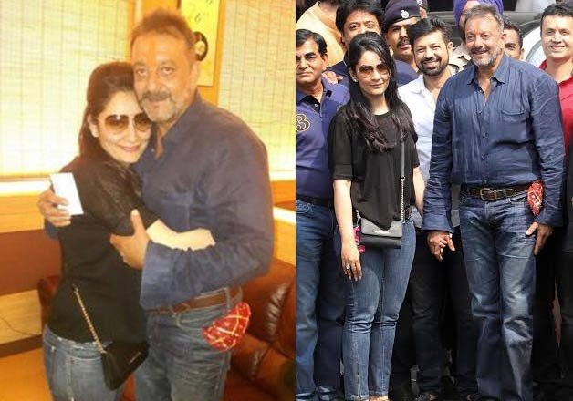 sanjay dutt finishes sentence wife manyata expresses joy