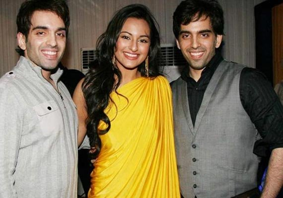 Sonakshi Sinha forms production company with brothers Luv and Kush |  Bollywood News – India TV