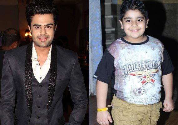 manish paul gives hosting tips to child star sadhil kapoor