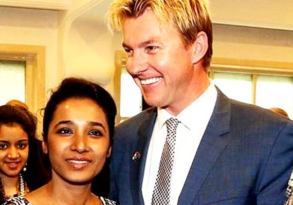 brett lee to debut opposite indian actress in unindian