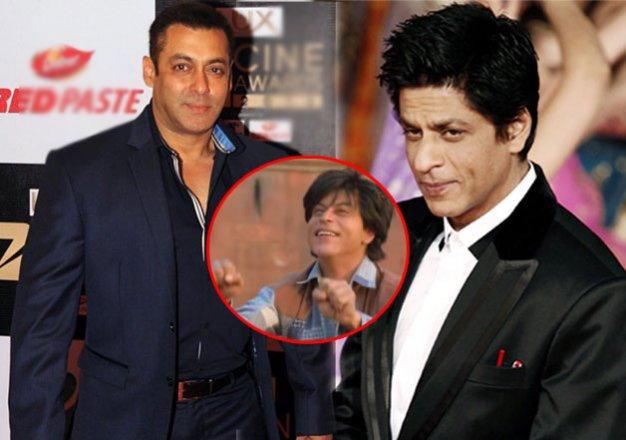 salman khan is the jabra fan of shah rukh. here s the proof