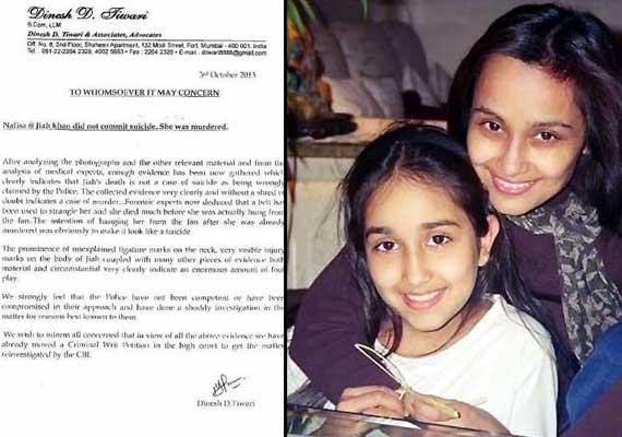 jiah khan suicide case belt used to murder jiah confirms