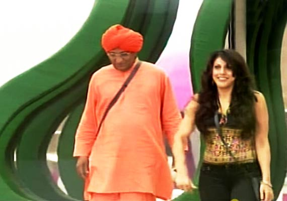 Swami Agnivesh in Bigg Boss, November 2011