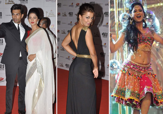know the winners and stars sparkled at the indian telly