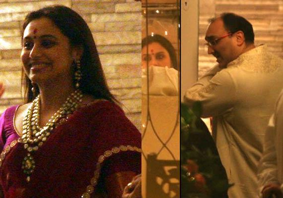 Rani Mukerji ties the knot with Aditya Chopra secretly in ...