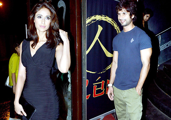 shahid ileana party together view pics