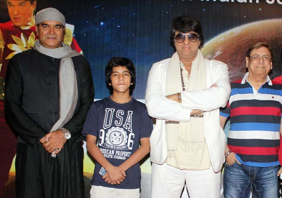 shaktimaan introduces junior shaktimaan in a tele film view