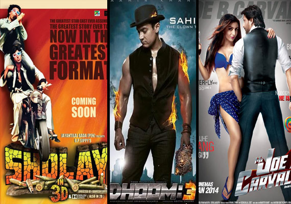 Sholay 3d Box Office Collection Rs 1 50 Cr On Day 1 Dhoom 3 Still Dominating Bollywood News India Tv