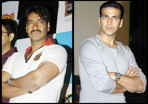 ajay devgan speaks on clash with akshay kumar see pics