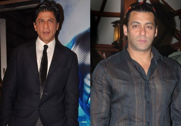 is there a cold war going on between shah rukh and salman