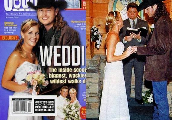 blake shelton s ex wife kaynette williams puts wedding