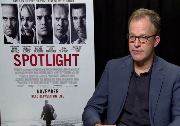 tom mccarthy s spotlight bags best picture award at oscars