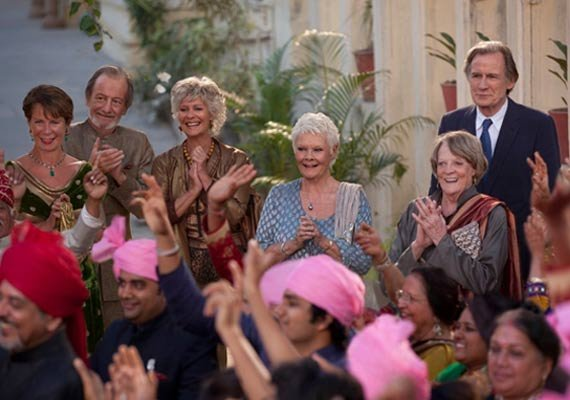 the second best exotic marigold hotel to be premiered for
