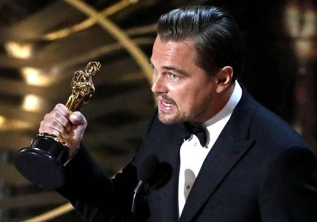 oscar 2016 spotlight best film leonardo di caprio best actor