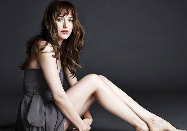 dakota johnson opted for a derriere double in fifty shades