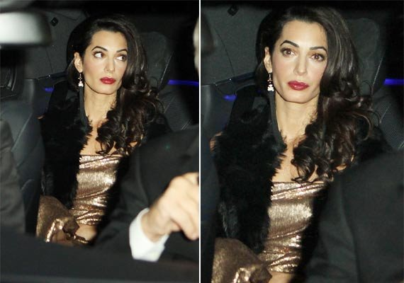 amal alamuddin clooney looks sad ahead of post wedding