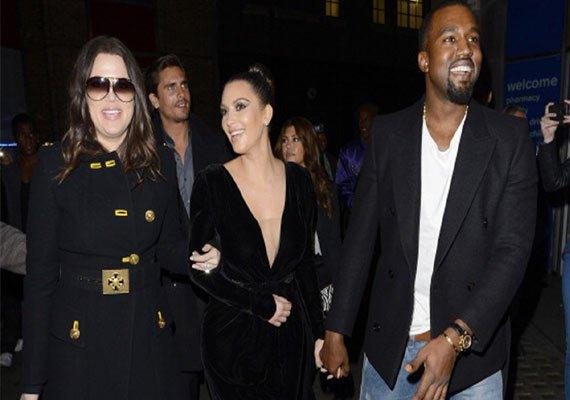 husband kanye sister khloe celebrate kim kardashian s