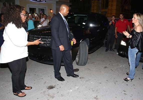 when oprah winfrey s driver ran over a woman s foot