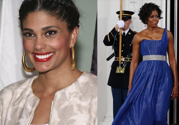 indo american designer rachel roy dresses up michelle obama