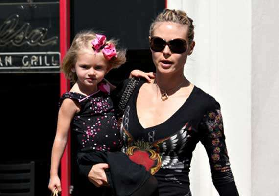 kids inspire heidi klum for new clothing collection