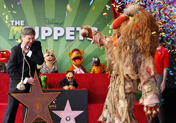 muppets get their own hollywood star