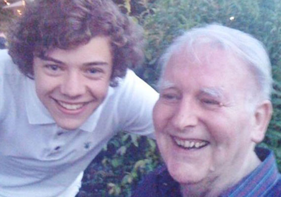 styles grandfather proud of him