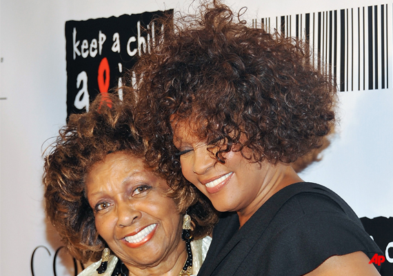 whitney houston s mom says she s proud of her