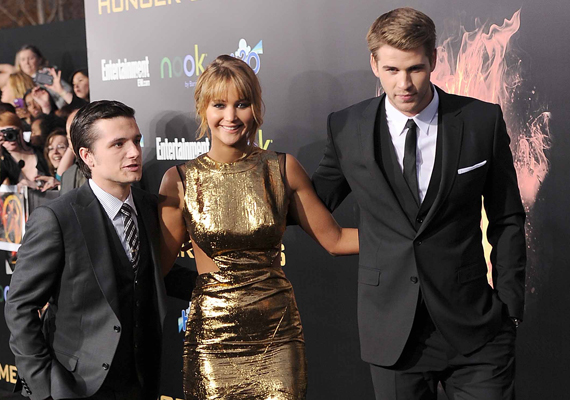the hunger games cast prepare for super stardom