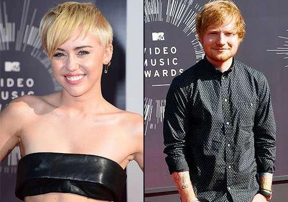 Ed Sheeran Finds Miley Cyrus Fantastic Hollywood News India Tv