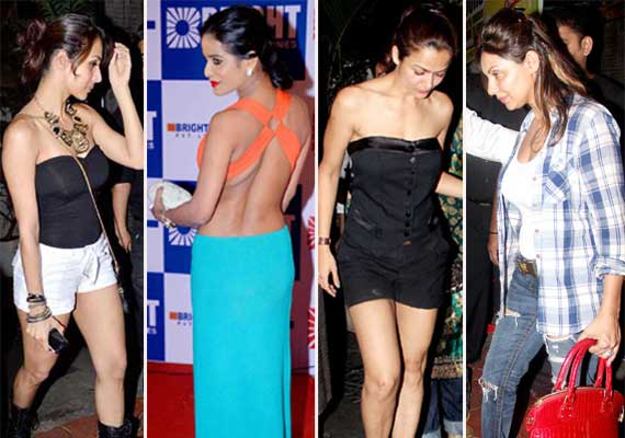 bollywood babes who sizzled in skimpy attires at recent