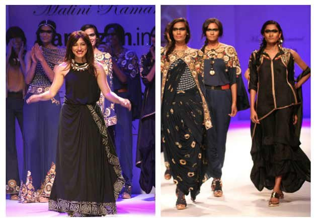 malini ramani rina dhaka unfold winter story on aifw ramp