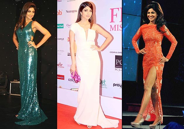 Shilpa Shetty is the best Bollywood actress to carry gowns