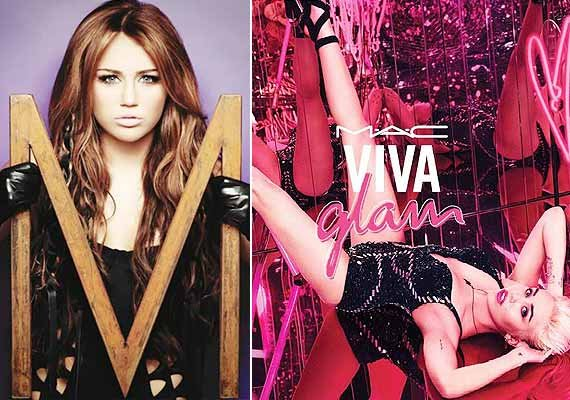 miley cyrus collaborates with a cosmetic brand to raise