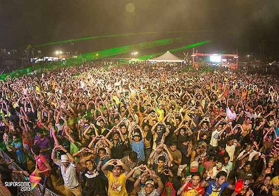 vh1 supersonic over 100 000 footfalls expected in goa