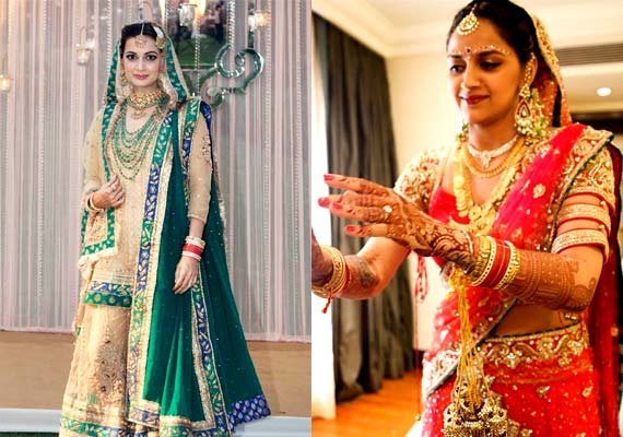 bollywood s most loved bridal avatars of 2014 see pics