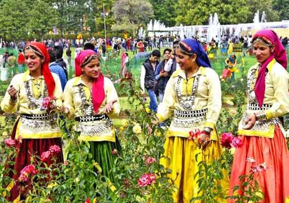 flower festival begins in himachal