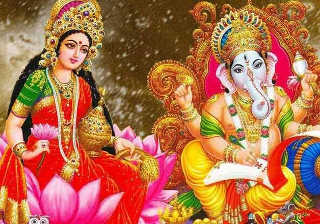 why we worship lakshmi ganesh on diwali and not rama