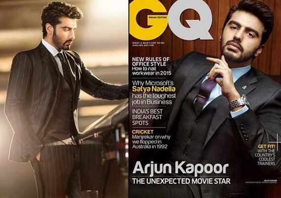 Arjun Kapoor on GQ: A dapper and proud actor | Lifestyle