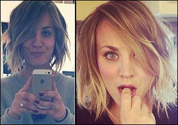 Kaley Cuoco S Faux Bob Inspired Her To Cut Hair Short Lifestyle News India Tv