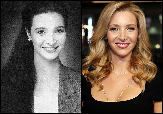 lisa kudrow loves herself post nose job see pics