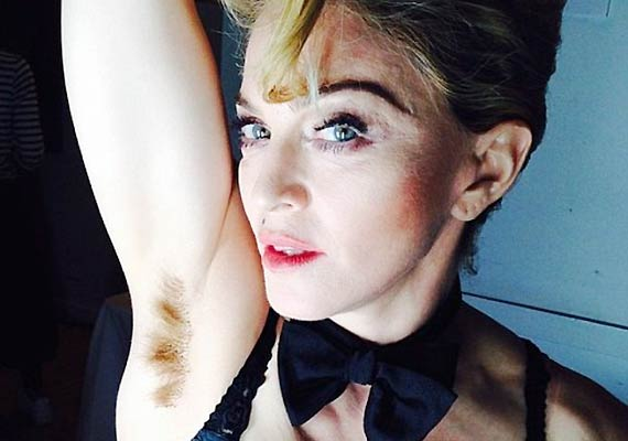Armpits on survivor hairy Underarm Hair: